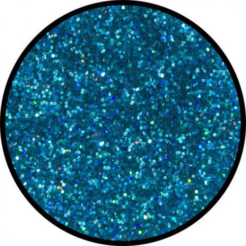 Třpytky 2g - Modrá holografická