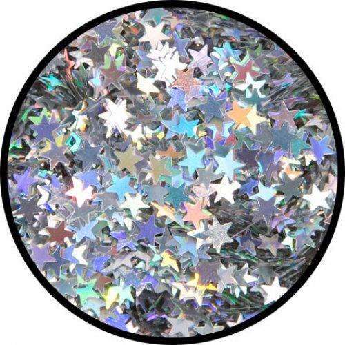 Třpytky 2 g - Stříbrné hvězdy