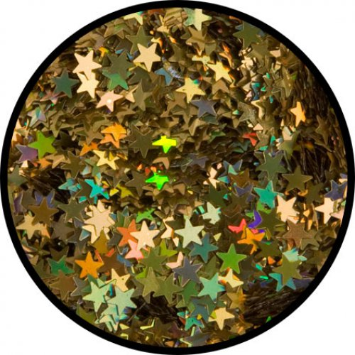 Třpytky 2 g - Zlaté hvězdy