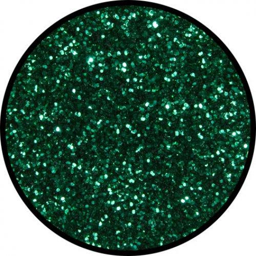 Třpytky 2 g - Smaragdová zelená