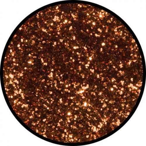 Třpytky 2 g - Zlatá oranžová