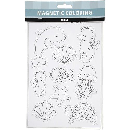 Magnety s předtištěnými motivy - mořští tvorové - CC51238_b.jpg