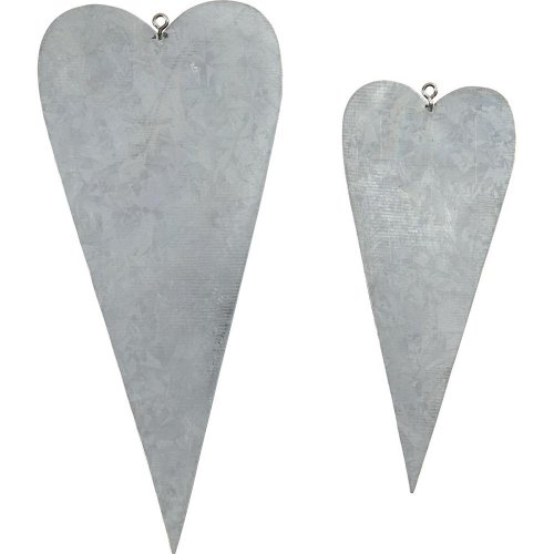 Kovové srdce, 6 ks