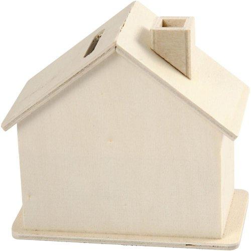 Domek pokladnička ze dřeva na dotvoření - CC574720_b.jpg