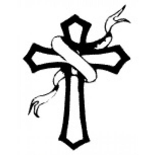 Přenášecí archy s motivem - Kříž se stuhou
