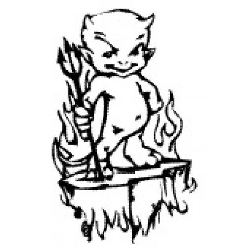 Přenášecí archy s motivem - Menší ďábel