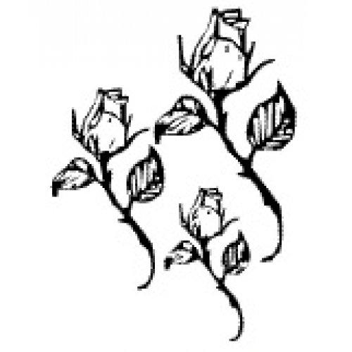 Přenášecí archy s motivem - Růže s dlouhým stonkem