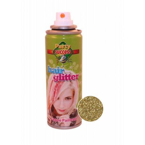 Třpytky na vlasy ve spreji 125 ml - Zlatá třpytivá