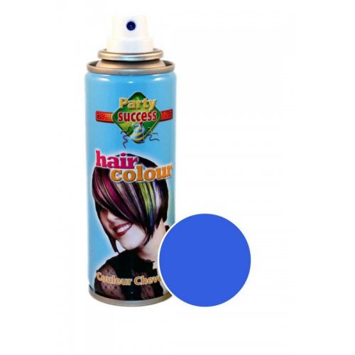 Barva na vlasy ve spreji 125 ml - Jasně zářivá modrá