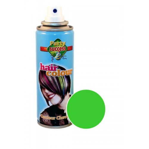 Barva na vlasy ve spreji 125 ml - Jasně zářivá zelená