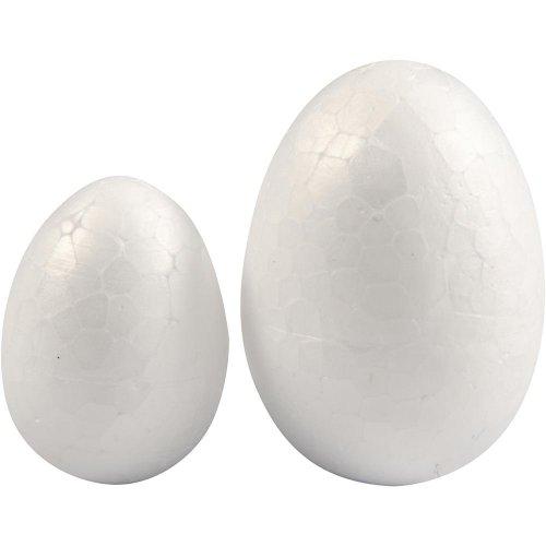 Polystyrenové vejce bílé