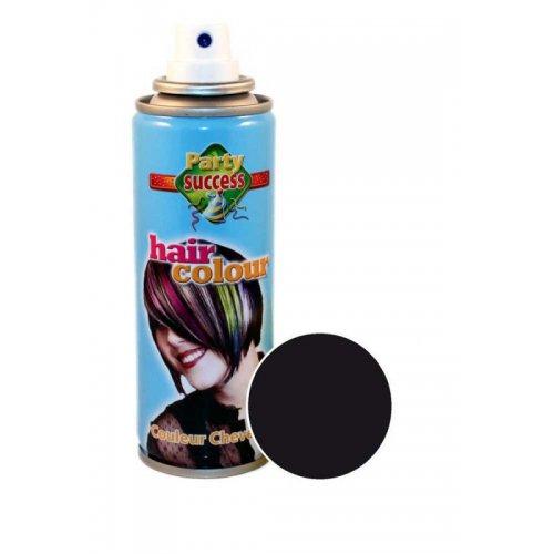 Barva na vlasy ve spreji 125 ml - Černá