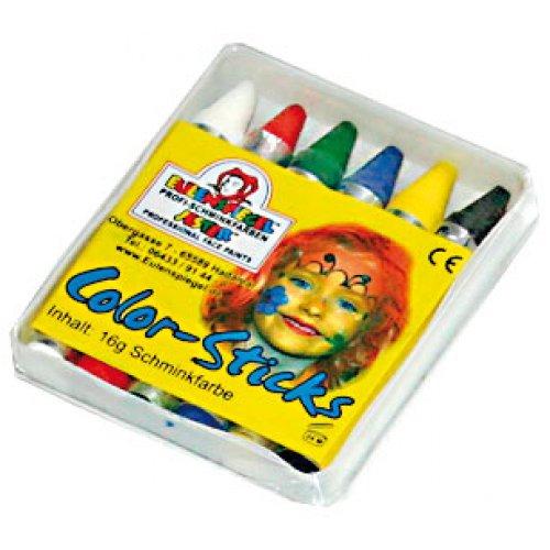 Tužky na obličej - 6 barev