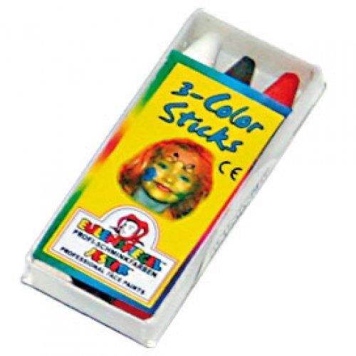 Tužky na obličej - 3 barvy