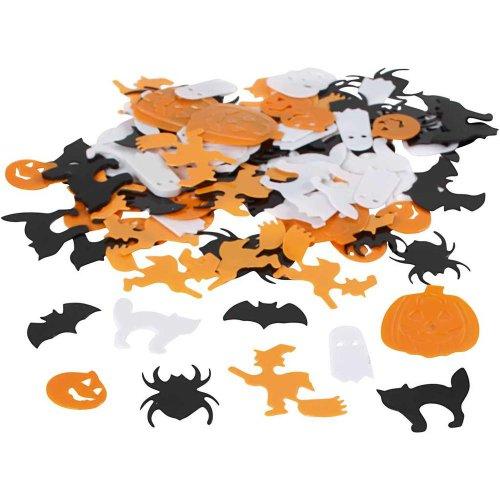 Výseky (konfety) Halloween - mix