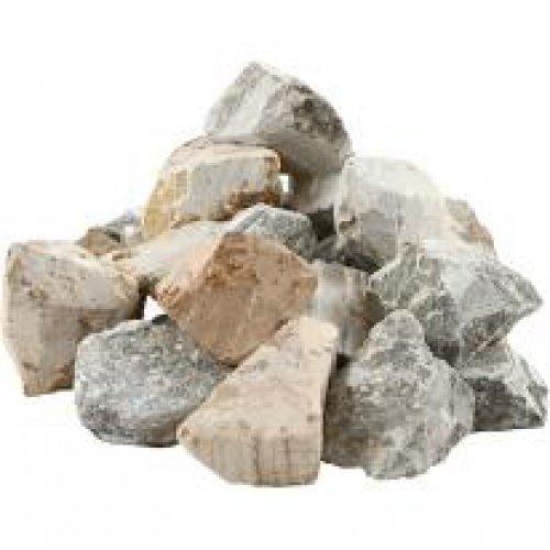 Přírodní kámen - mastek 10 kg různé barvy