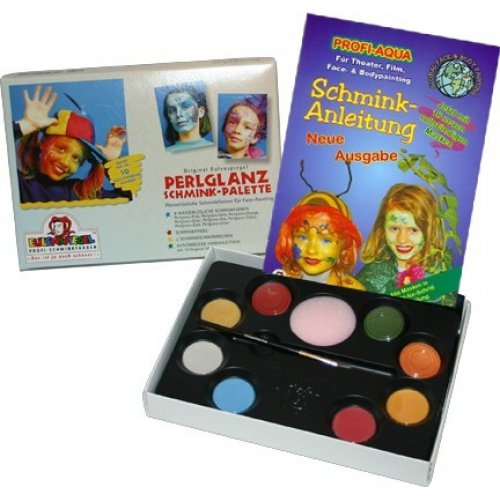 8ks barev v paletě  - Perleťové barvy