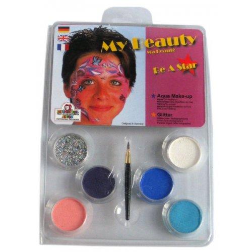 My Beauty Make-up - 6 barev v paletě s instrukcemi