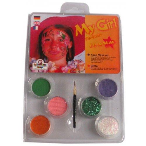 My Girl Make-up - 6 barev v paletě s instrukcemi