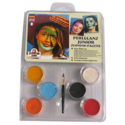 Junior Make-up perleťový - 6 barev v paletě