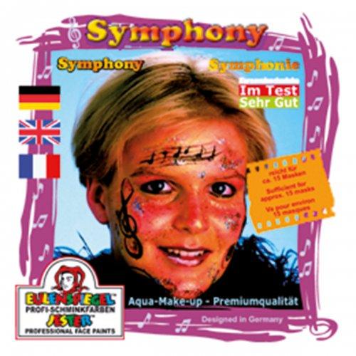 Sada barev na obličej - Symfonie