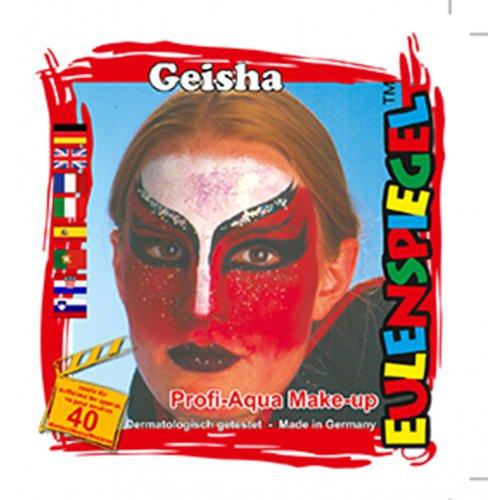 Sada barev na obličej - Gejša