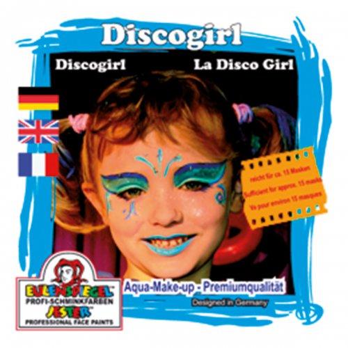 Sada barev na obličej - Disco girl
