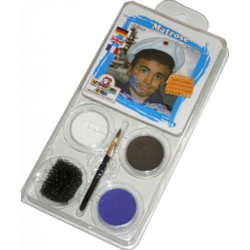 Sada barev na obličej - Námořník