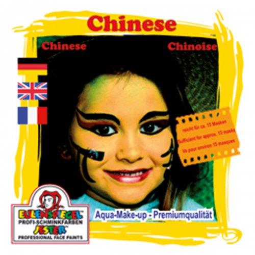Sada barev na obličej - Číňanka