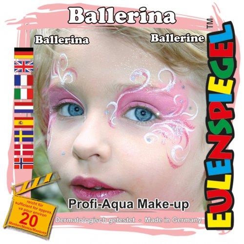 Sada barev na obličej - Baletka