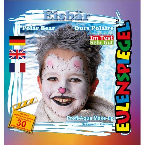 Sada barev na obličej - Lední medvěd
