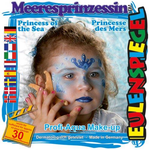 Sada barev na obličej - Mořská princezna