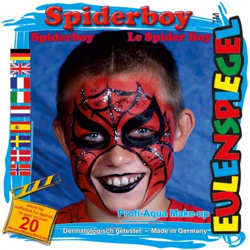 Sada barev na obličej - Pavoučí kluk