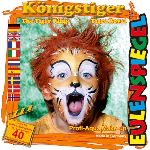 Sada barev na obličej - Královský tygr