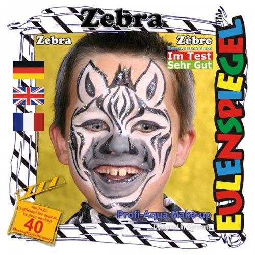 Sada barev na obličej - Zebra