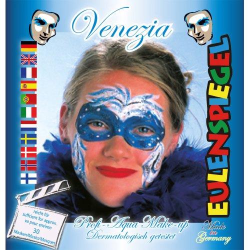 Sada barev na obličej - Benátská maska