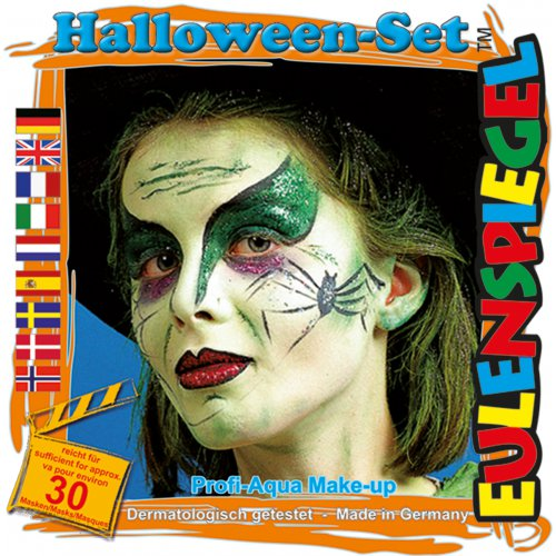 Sada barev na obličej - Halloween