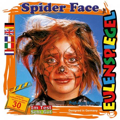 Sada barev na obličej - Pavoučí tvář
