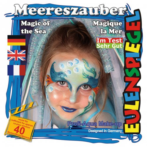 Sada barev na obličej - Kouzlo moře