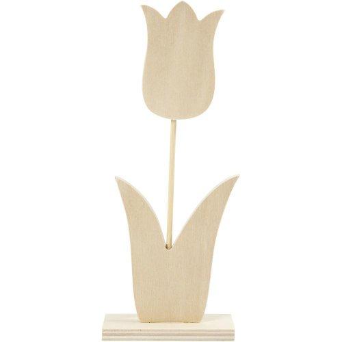 Dřevěný tulipán - malý