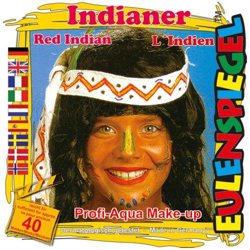 Sada barev na obličej - Indián
