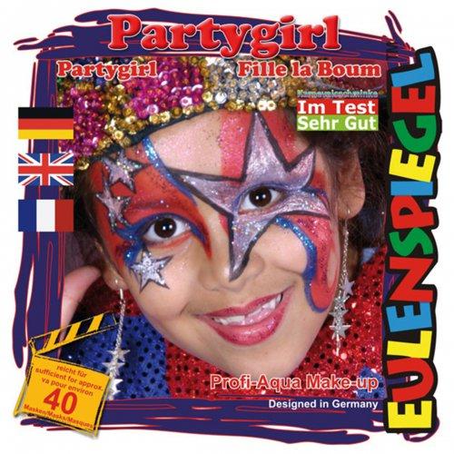 Sada barev na obličej - Párty girl