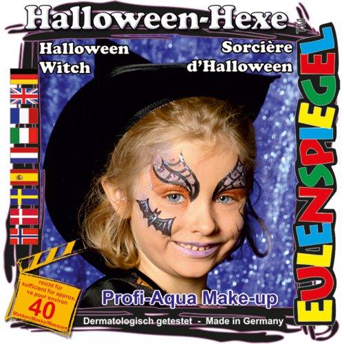 Sada barev na obličej - Halloween čarodějnice