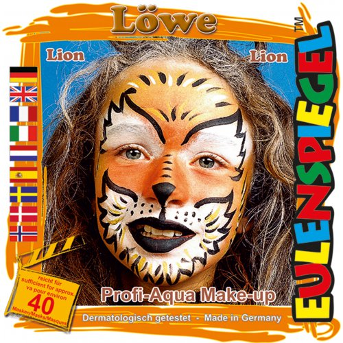 Sada barev na obličej - Lev