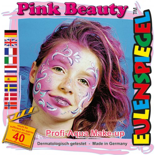 Sada barev na obličej - Růžová kráska