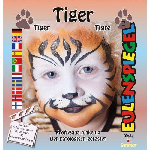 Sada barev na obličej - Tygr