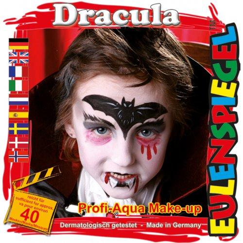 Sada barev na obličej - Drákula