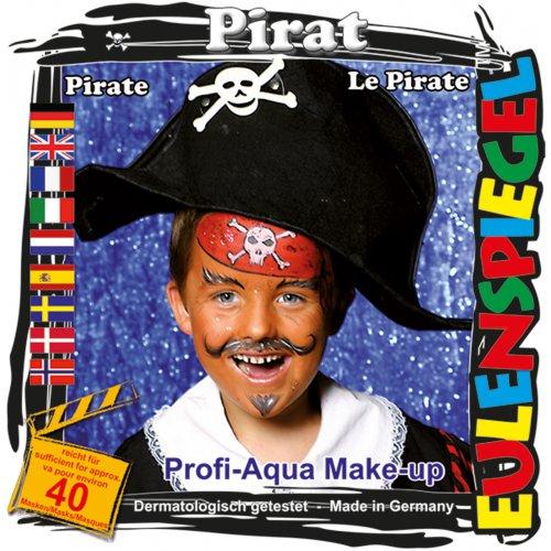 Sada barev na obličej - Pirát
