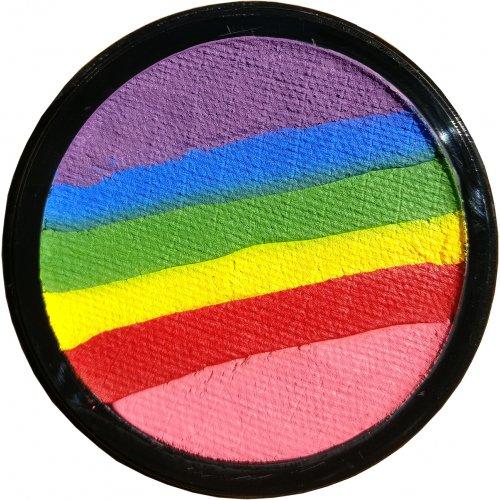 Sada barev na obličej - Kouzelná duha - 20 ml s instrukcemi - 006 Rainbow magic.jpg