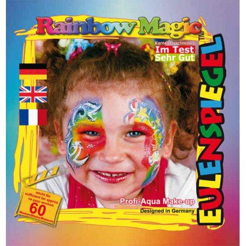 Sada barev na obličej - Kouzelná duha - 20 ml s instrukcemi